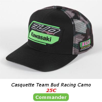 Casquette Bud Camo