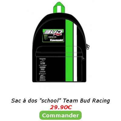 Sac a dos school Team Bud Racing