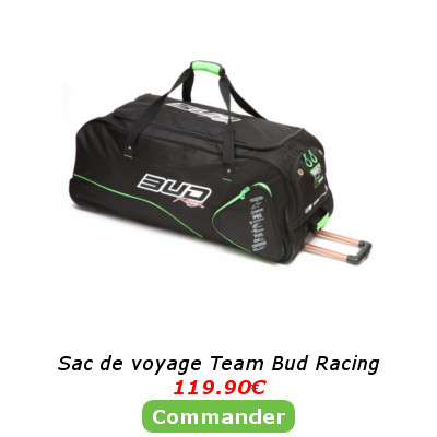 Sac de voyage Team Bud Racing