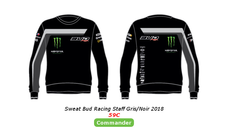 Sweat Bud Racing Staff Gris