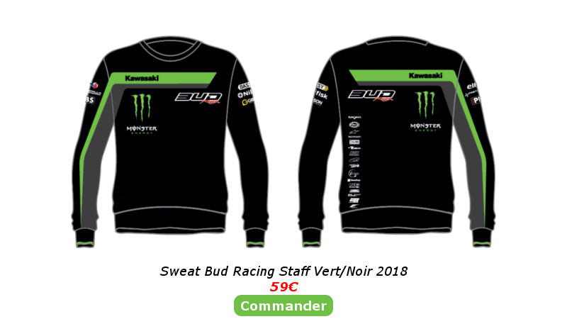Sweat Bud Racing Staff Vert