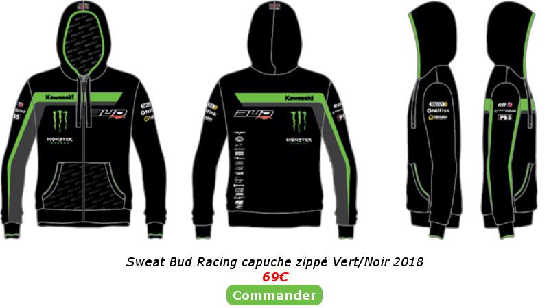 Sweat Bud Racing Vert