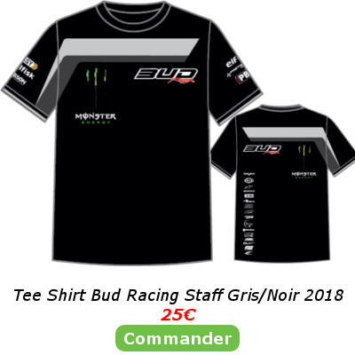 Tee Shirt Bud Racing Gris