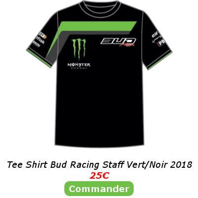 Tee Shirt Bud Racing Vert