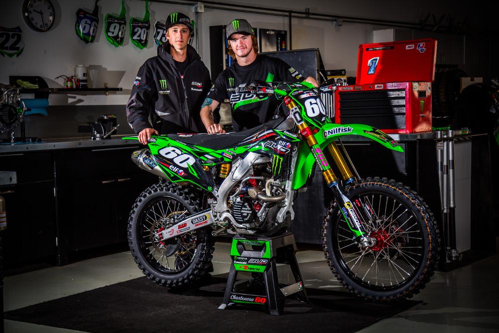 Bud Racing / Monster Energy / Kawasaki Team photos Released